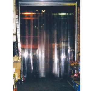 A PVC Strip curtain fitted in a loading bay door