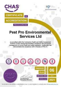 CHAS 2020-21 Premium Plus for Pest Pro