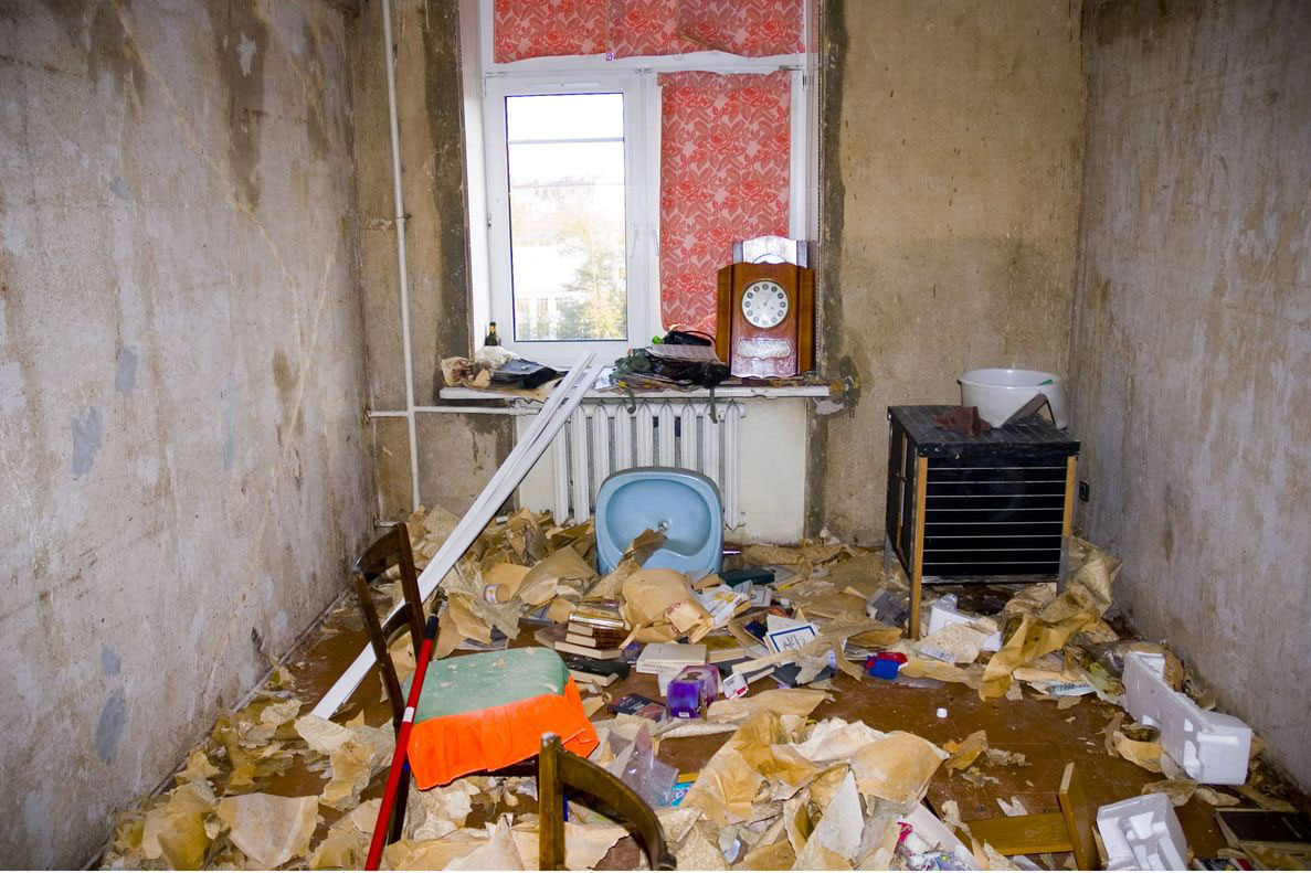 Verminous house clearance quoted for in Newcastle